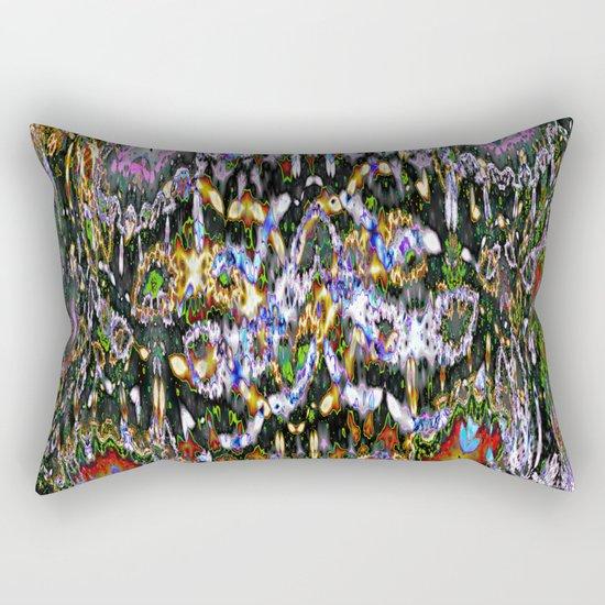 asymmetric something II Rectangular Pillow