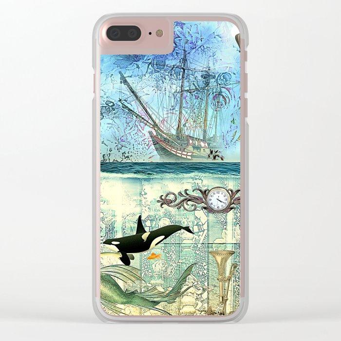 High Tide  - 4:20 Clear iPhone Case