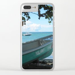 Yuliany on Shore Clear iPhone Case