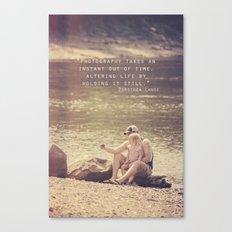 Holding Life Still Canvas Print