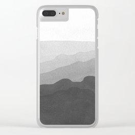Landscape#3 Clear iPhone Case