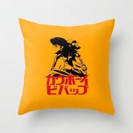 001 Cowboy Bebop Trio Throw Pillow