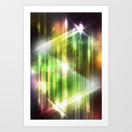 Pulse 3.0 - Glowing Art Print