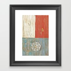 Concho Framed Art Print