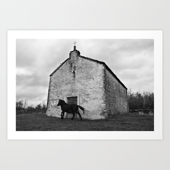 They Shoot Horses, Don't They? Art Print