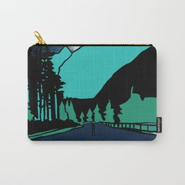 Highway at Night Carry-All Pouch