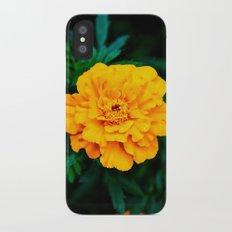 Tangerine Beauty iPhone X Slim Case