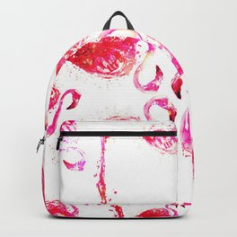 Flamingo Shimmer Backpack
