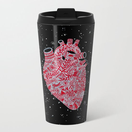 Lonely hearts Metal Travel Mug