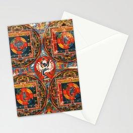 Hevajra Buddhist Thangka Mandala Yidam Stationery Cards