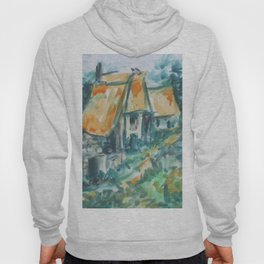 The houses along the road Hoody