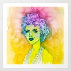 Rad Marilyn  Art Print