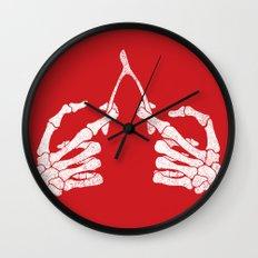 Wishbones Wall Clock