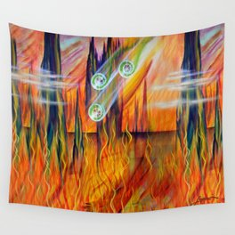 Fire Wall Tapestry