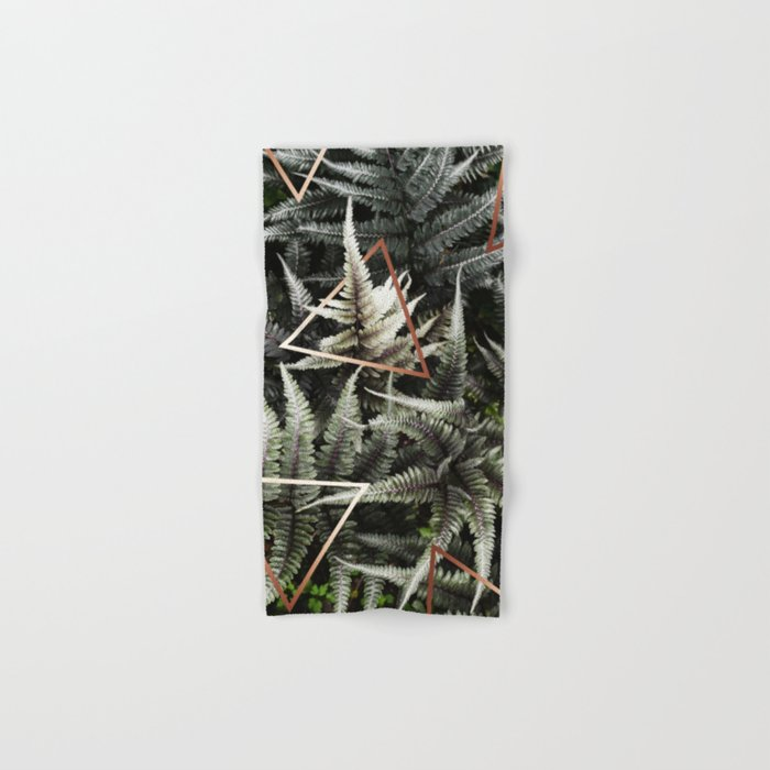 Fern + Copper #society6 #decor #buyart Hand & Bath Towel