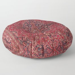 Antique Persian Rug Floor Pillow