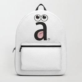 a tongue Backpack