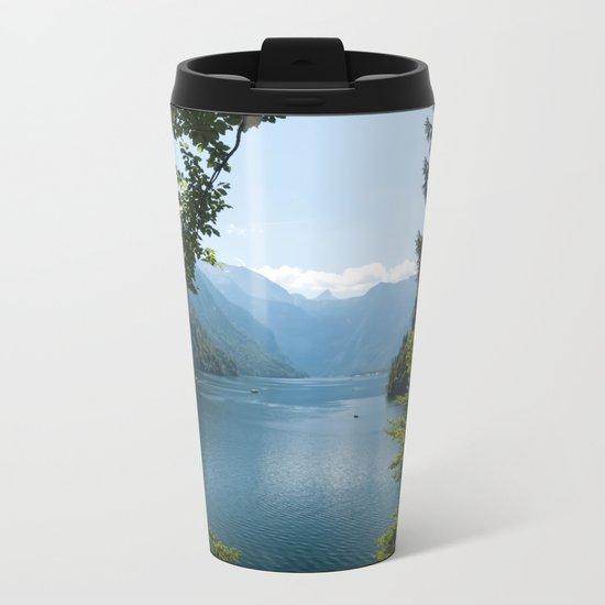 Germany, Malerblick, Mountains - Alps Koenigssee Lake Metal Travel Mug
