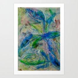 Green Dancing(1) 2013 Art Print