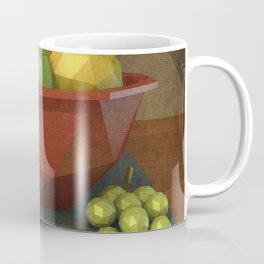 Low-polygon style still life painting Coffee Mug