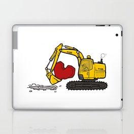 Heart Digger Laptop & iPad Skin