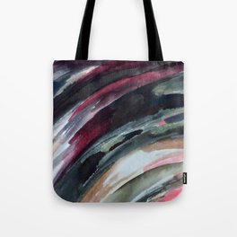 Abstract Ink Smear  Tote Bag