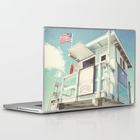 cabin Laptop & iPad Skins featuring The cabin by Retro Love Photography