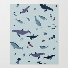 Underwater Playground Canvas Print