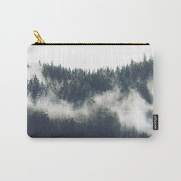 Abstract Forest Fog Carry-All Pouch
