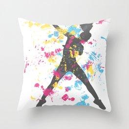 Hip Hip Dancer Throw Pillow