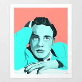 Marlon Brando  Art Print