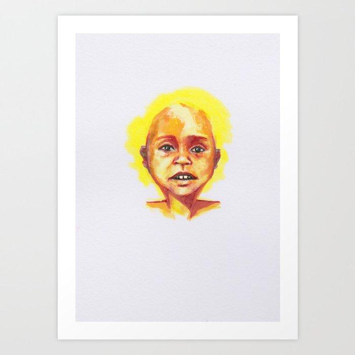 Petites têtes 6 Art Print