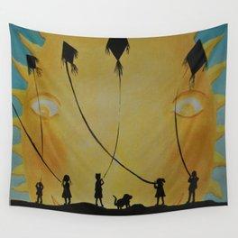 Papalotes (kites) Wall Tapestry