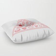 Food Pyramid Floor Pillow