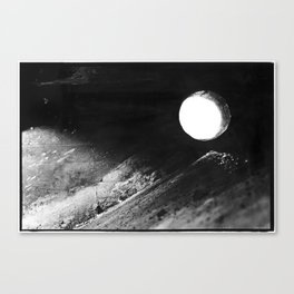 Claiborne Moon Canvas Print