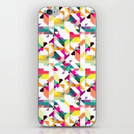 Aztec Geometric IV iPhone Skin