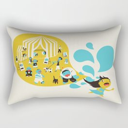 Zombie Carnival Rectangular Pillow