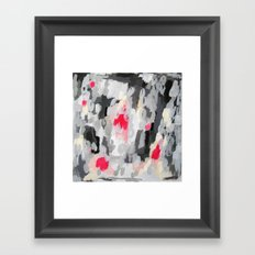 No. 70 Modern Abstract Painting Framed Art Print