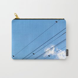 Bird on a wire no.1 Carry-All Pouch