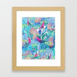 Alien Organism 31 Framed Art Print
