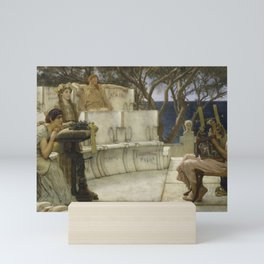 Lawrence Alma-Tadema - Sappho and Alcaeus Mini Art Print