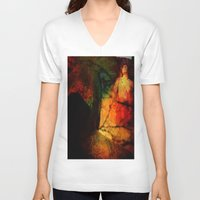 dragon age inquisition V-neck T-shirts featuring Inquisition by Ganech joe