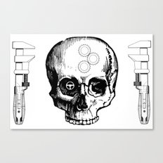 Gear Heads and Monkey Wrenches Canvas Print