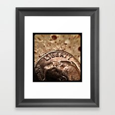 Liberty. Framed Art Print