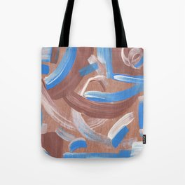 Falling Water Abstract Tote Bag