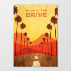 Mulholland Drive Alternative Poster Canvas Print