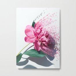 Fragmented flora Metal Print
