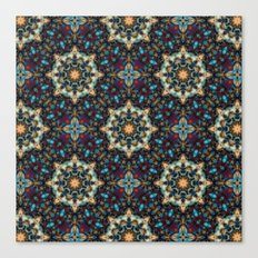 Abstract Cathedral Kaleidoscope Canvas Print