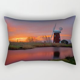 Horsey Windpump 01 Rectangular Pillow