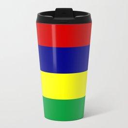 Mauritius country flag Travel Mug